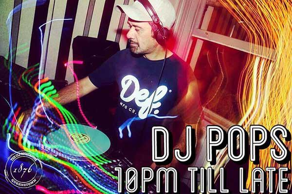 14 Dec @ 10pm – DJ Pops